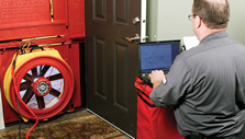 Entek-Blower Door Test