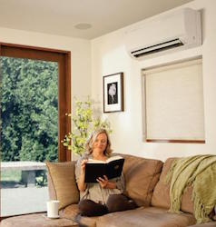 ductless heating and cooling services