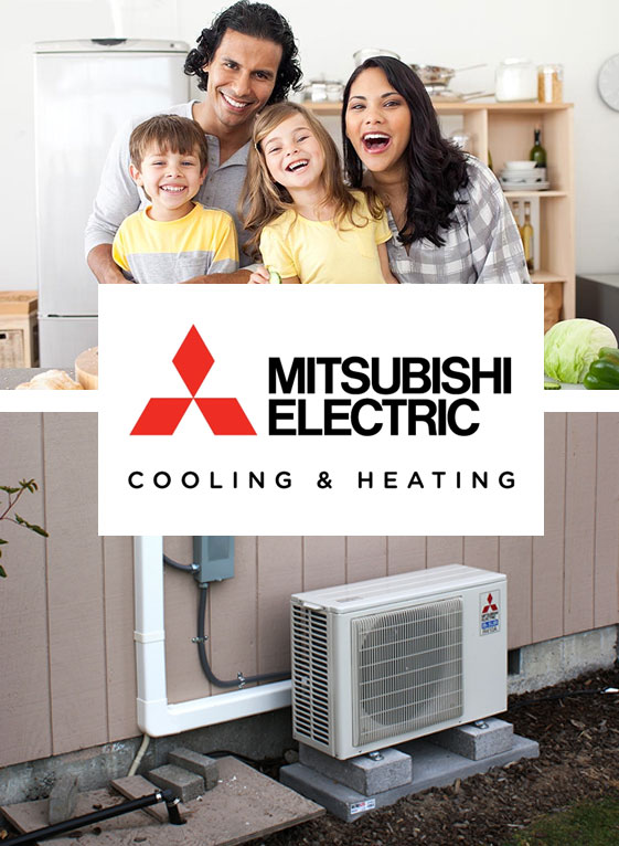 mitsubishi heating and cooling services
